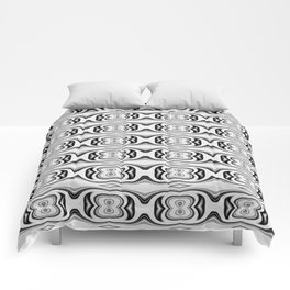Figure 8 Black and White Pattern Comforters