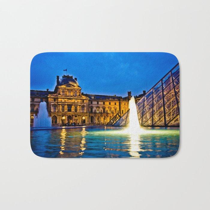 Palais du Louvre II Bath Mat