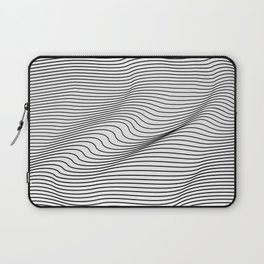 Minimal Curves Laptop Sleeve