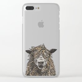 Cotswold Sheep Clear iPhone Case