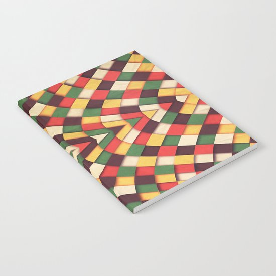 Rastafarian Tile Notebook