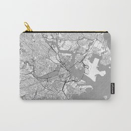 Boston Map Line Carry-All Pouch