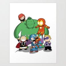 The Baby Avenger-s Art Print