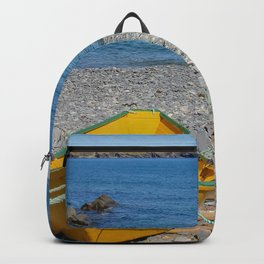 yellow dory Backpack