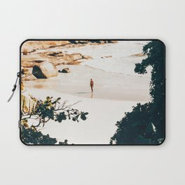Solo Traveler || #illustration #travel Laptop Sleeve