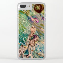 Addiction Clear iPhone Case