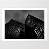 Downtown Toronto Fogfest No 14 Art Print