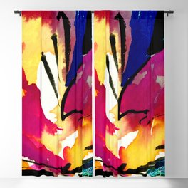 Soul Flower No. 20 by Kathy Morton Stanion Blackout Curtain