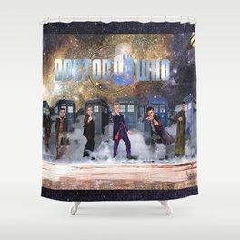 Six Doctors Shower Curtain