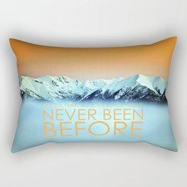 Tatra Mountains Sunset Rectangular Pillow