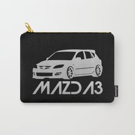 Mazda 3 - silver - Carry-All Pouch