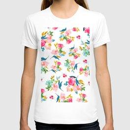 floral pattern 1 T-shirt