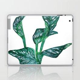 green calla lily Laptop & iPad Skin