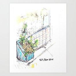 927 Bloor St Toronto Art Print