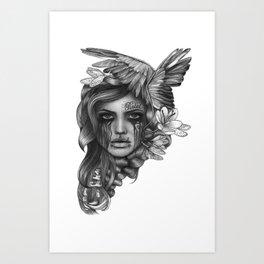 REBEL REBEL Art Print