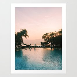 Mornings on the Gulf of Thailand Art Print