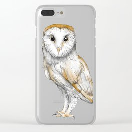 """""""Terence"""" Clear iPhone Case"""