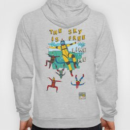 Skydive in the sky Hoody