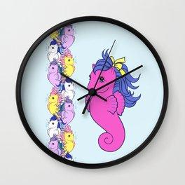 g1 my little pony sea ponies Wall Clock