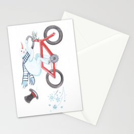 Walden's Red Bike Stationery Cards