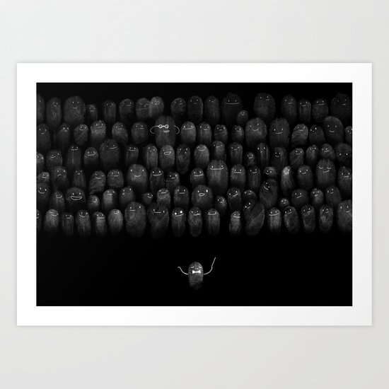 Fingerprint I Art Print