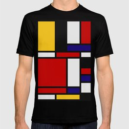 Mondrian De Stijl Art Movement T-shirt
