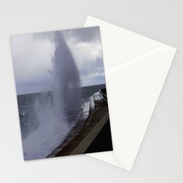 A Gale to Blow Out the Year #3 (Chicago Waves Collection) Stationery Cards