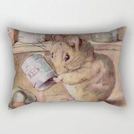Naughty little mouse! Rectangular Pillow