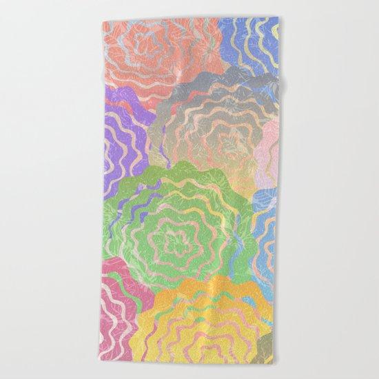 Summer Pattern #7 Beach Towel