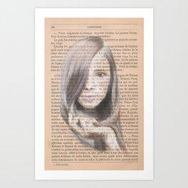L'historie Art Print