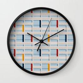 S04-2 - Facade Le Corbusier Wall Clock