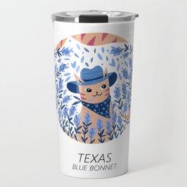 American Cats - Texas Travel Mug
