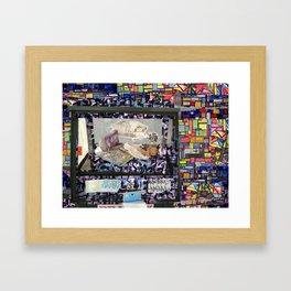 LA BREA TRASH  Framed Art Print