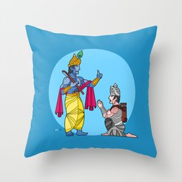 A tale of friends Throw Pillow