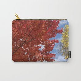 Garnet and Gold Glory - Autumn Sugar Maples Carry-All Pouch