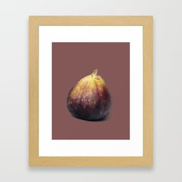 Fig Time Framed Art Print