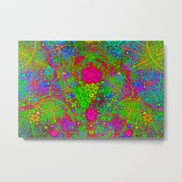 The Twirling Light of My Mind Metal Print