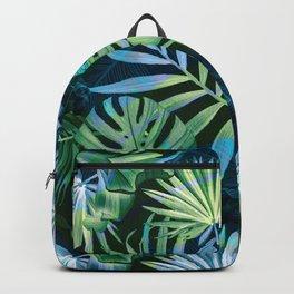 Tropical fiesta - moonlit Backpack