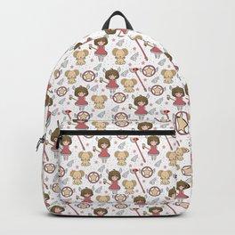 Sakura Pattern Backpack
