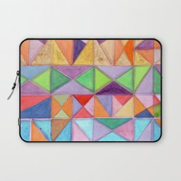 Fresh and Warm Triangle Pattern Laptop Sleeve