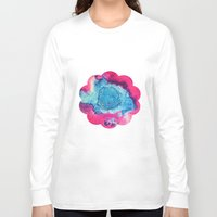 mars Long Sleeve T-shirts featuring Mars by Heather Plewes Art