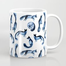 A pack of silver foxes. Mug