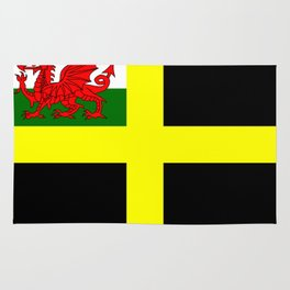 Flag of Saint David Rug