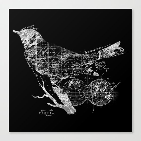 Bird Wanderlust Canvas Print