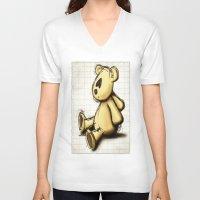 cartoon V-neck T-shirts featuring Cartoon Palin by Palin
