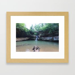 Hocking Hills 0615 Framed Art Print