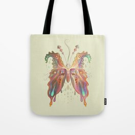 Monarch Butterfly of Spades Tote Bag