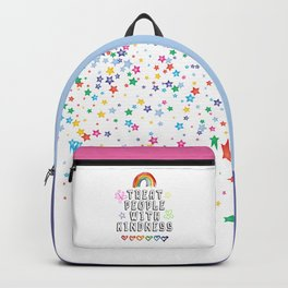 TREAT PEOPLE WITH KINDNESS - PRIDE EDITION Backpack