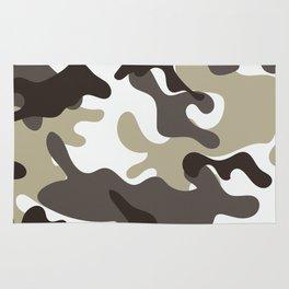 Urban Camo Camouflage Pattern Rug