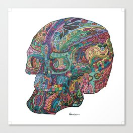 Funkadelic Skull Rebirth Canvas Print
